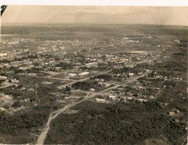 Vista aérea Pimenta Bueno anos 70