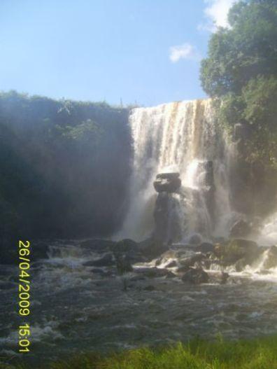 Cachoeira em Chupinguaia