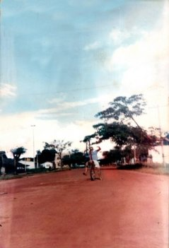 Rua Ricardo Franco anos 90 Pimenta Bueno