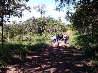 Caminhada ao Rio Saldanha